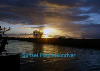 Sunset from Moonriver